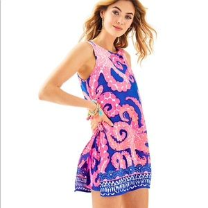 NWT Lilly Pulitzer Donna Romper Mocean Size 00